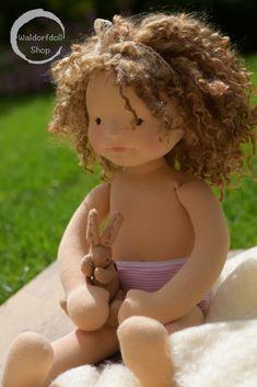 "https://flic.kr/p/VBZNrV | DSC_00281 | Natural Fibre Art Doll, OOAK Charlotte 20"""