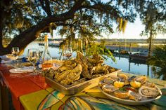 Top 7 Must-Try Foods on Hilton Head Island | Hilton Head Island She Crab Soup, Local Seafood, Pecan Recipes, Hilton Head Island, Lunch Menu, Low Country, Recipe Of The Day, Soul Food, Brunch