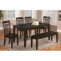 Delran 6 Piece Dining Room Furniture Set   Furniture   Macyu0027s | Kitchen  Nook | Pinterest