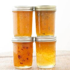 Can your own homemade Peach Jam Includes variations: chipotle-peach, sweet basil peach, and bourbon peach jam From Better Homes and Gardens, ideas and improvement projects for your home and garden plus recipes and entertaining ideas. Jelly Recipes, Jam Recipes, Canning Recipes, Crockpot Recipes, Healthy Recipes, Wine Jelly, Jam And Jelly, Chipotle, Millions Of Peaches