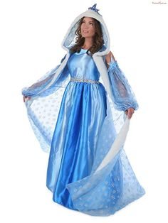 4ff3d12a1e8 Women s Icelyn Winter Princess Deluxe Costume