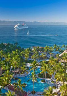 Ocean view Pool ~ The Westin Resort & Spa, Puerto Vallarta in Mexico