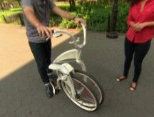 VIDEO of the GiBike full size folding electric bike on CNN Money! Good to see e-bikes in mainstream media.