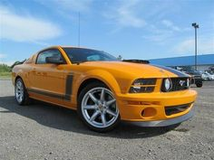 Check Out This 2007 Ford Saleen Mustang Image....