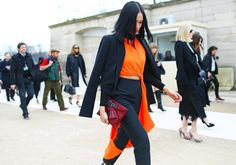 Street Style: Paris Fashion Week Fall 2014, Part Two – Photos – Vogue