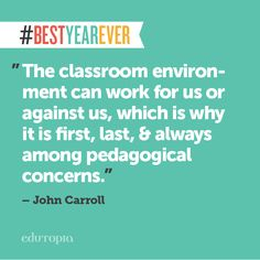 Tips for Creating Wow-Worthy Learning Spaces. #BestYearEver