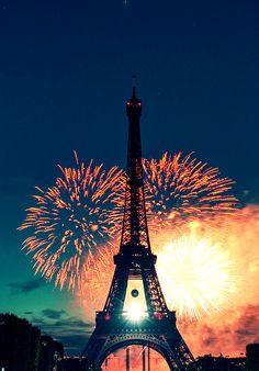 Eiffel Tower, Paris. Great shot!