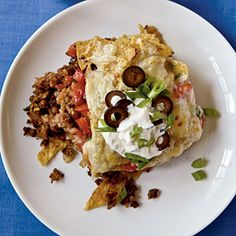 Vegetarian Mexican Casserole | CookingLight.com