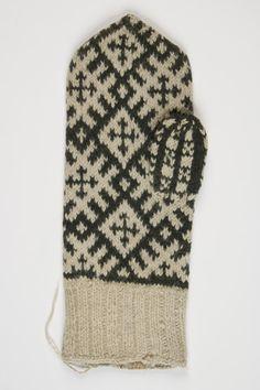 1883  Eesti; vald Lobotka, küla Mikitamäe, Mittens Pattern, Knit Crochet, Gloves, Knitting, Inspiration, Biblical Inspiration, Tricot, Breien, Ganchillo