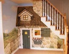 Image result for picture of playhouse under the stairs