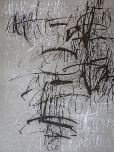 The New Post-literate: A Gallery Of Asemic Writing: Asemic Writing from Francesca Biasetton