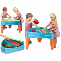 Sand and Water Play Table Toys Games Activities Fun Educational Toddler Ki  Make the Best this Cheap Gift. At Luxury Home Brands WE always Find Great Stuff for you :)