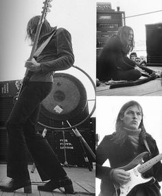 Pink Floyd in Australia Aug 1971 from the book Pink Floyd- The Black Strat