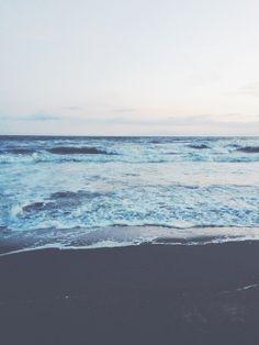 Juste un moment de pause, à regarder la mer faire des va-et-viens