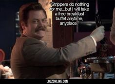 I couldn't agree more Swanson
