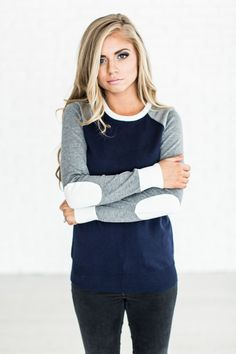 Long Drive Sweater - Navy