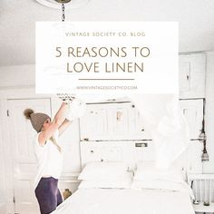 Linen 101 - Find out why you should be sleeping on Linen Sheets and how to properly care for them! Linen Sheets, Linen Pillows, Linen Fabric, Rental House Decorating, Apartment Decorating On A Budget, Farmhouse Fabric, Country Farmhouse Decor, Farmhouse Style, Shabby Chic Bedrooms
