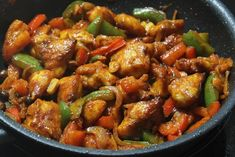 Learn how to cook/make Schezwan Chicken. Recipe of Schezwan Chicken with ingredients and cooking instruction.