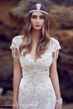 Featured Wedding Dress: Anna Campbell