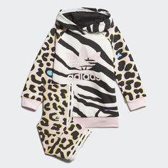 LZ Hoodie Set Multicolor / Clear Pink / Black FM9987 Adidas Originals, Original Stan Smith, Legging, Little Girl Outfits, No Show Socks, Pullover, Hoodies, Sweatshirts, Joggers