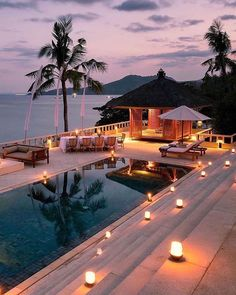 Luxusreisen und Incredible Vacations and Tours Holiday Destinations, Vacation Destinations, Vacation Trips, Dream Vacations, Beautiful Places To Travel, Beautiful Hotels, Wonderful Places, Beautiful Sunset, Dream Pools