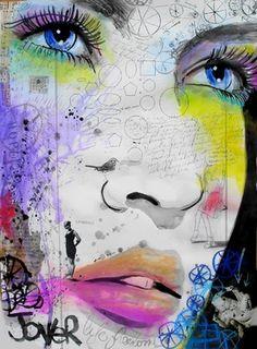 "Saatchi Online Artist Loui Jover; Mixed Media, ""life mechanics"" #art"