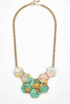 Globe trotting necklace.