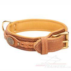 Quality #Leather Dog #Collar $59.90