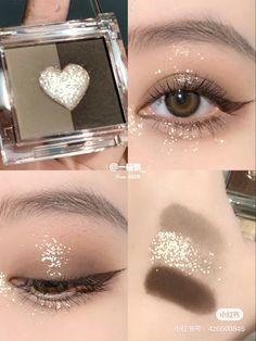 Korean Eye Makeup, Eye Makeup Art, Scary Makeup, Asian Makeup, Cute Makeup, Makeup Inspo, Beauty Makeup, Ulzzang Makeup, Kawaii Makeup