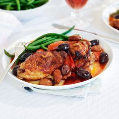 This chicken recipe has all the flavours of Spain in a simple one-pot dish