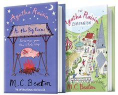 Silly Agatha Raisin solves mysteries in the Cotswolds.