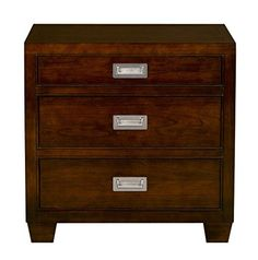 3 Drawer Nightstand, Filing Cabinet, Home Furniture, Drawers, Cherry, Amazon, Bedroom, House, Home Decor