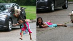 Texas girl laughs off viral goose attack photo: 'It's so funny!' - TODAY.com