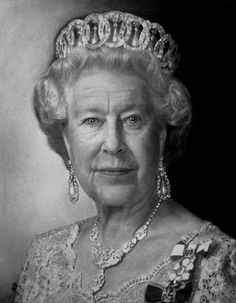 Oueen Elizabeth II by Kelvin Okafor, via Flickr