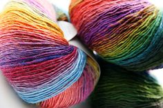 Our Fall order of Mille Colori Baby arrived recently and I immediately stashed a few balls to knit up Drachenschwanz by Solwey Hauptmann – a fun and easy shawl pattern that lends itself so we…