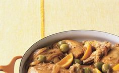 Moroccan Chicken with Green Olives and Lemon / Lisa Hubbard