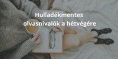 Hulladékmentes olvasnivalók a hétvégére - Hulladékmentes.hu