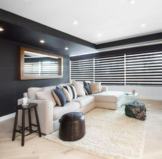The Block Octagon: Living room week