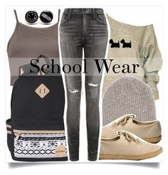 """""""School Style"""" by madeinmalaysia ❤ liked on Polyvore featuring Vans and Citizens of Humanity"""