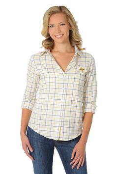 0df55268b3f We love this University of Iowa Women s Plaid Shirt from UG Apparel!  Perfect for true