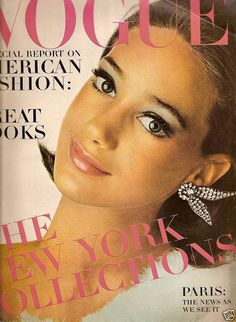 Marisa Berenson - Vogue, September 1, 1965. Photo by Irving Penn.