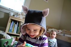 Oliver + S cozy winter hood from Little Things to Sew: by alyssahn, via Flickr