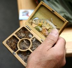 Participants also drooled over Dr. Ishigaki's beautiful fly box and other accessories