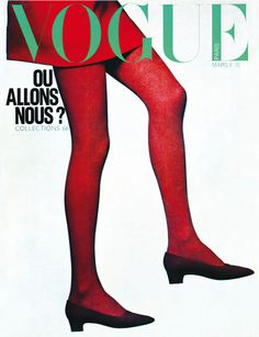 Le numéro de mars 1966 de Vogue Paris par Guy Bourdin