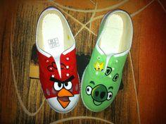 Zapatillas Customizadas a mano - Zapatillas pintadas - Zapatillas fdc - Zapatillas pintadas a mano - Zapatillas personalizadas - Diseños exclusivos