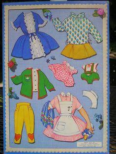 1932 Gullet and Per Paper Dolls.This From Kattie Klippdocker - MaryAnn - Picasa Webalbum