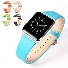 WatchBand For Apple Watch Band Genuine Leather Wrist Band Strap For iWatch 38 mm  42mm optional