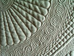 The spiral motif is found in many ancient cultures and is a great addition to your machine quilting repertoire of designs. Explore how to create it, modify it, integrate it into your quilting, no matter what your design style. Learn a sprial wreath, and new Celtic Bubbles too!