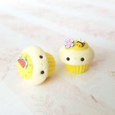 """929 Likes, 14 Comments -  (@meowbuntwins) on Instagram: """"Who misses summer?  These were for a lovely customer! . . . #handmade #cupcakecharms #kawaii…"""""""