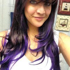 TABETHA-- Do this to my hair!!Purple hair